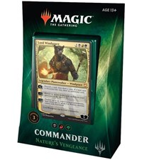 Commander 2018 Deck - Nature's Vengeance, Magic: The Gathering, Commander 2018