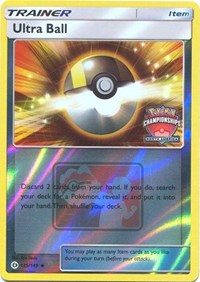 Ultra Ball (NA Championship Promo), Pokemon, League & Championship Cards