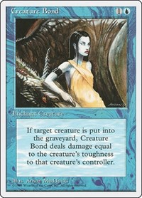 Creature Bond, Magic: The Gathering, Fourth Edition