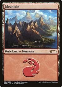 Mountain (Alayna Danner), Magic: The Gathering, Standard Showdown Promos