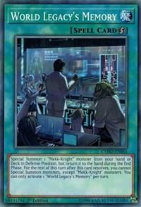 World Legacy's Memory, YuGiOh, Cybernetic Horizon