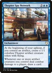 Thopter Spy Network, Magic: The Gathering, Commander 2018