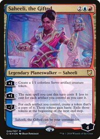 Saheeli, the Gifted, Magic: The Gathering, Commander 2018
