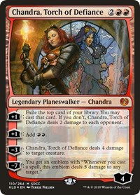 Chandra, Torch of Defiance (SDCC 2018 EXCLUSIVE) (Foil)