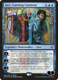 Jace, Cunning Castaway (SDCC 2018 Exclusive), Magic: The Gathering, Media Promos