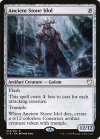 Ancient Stone Idol, Magic: The Gathering, Commander 2018
