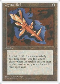 Crystal Rod, Magic: The Gathering, Fourth Edition