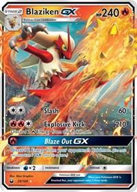 Blaziken GX, Pokemon, SM - Celestial Storm
