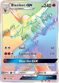 Blaziken GX (Secret), Pokemon, SM - Celestial Storm