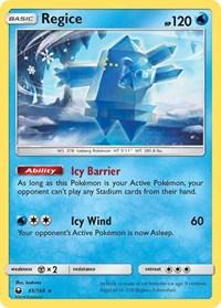 Regice, Pokemon, SM - Celestial Storm