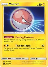 Voltorb, Pokemon, SM - Celestial Storm