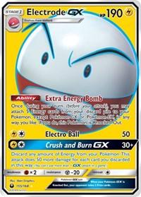 Electrode GX (Full Art), Pokemon, SM - Celestial Storm