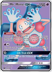 Mr. Mime GX (Full Art), Pokemon, SM - Celestial Storm