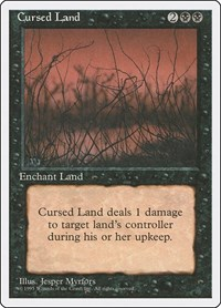 Cursed Land, Magic: The Gathering, Fourth Edition