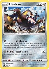 Heatran, Pokemon, SM - Celestial Storm