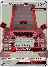 Stakataka GX (Full Art), Pokemon, SM - Celestial Storm