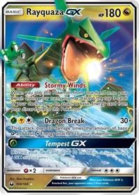 Rayquaza GX, Pokemon, SM - Celestial Storm