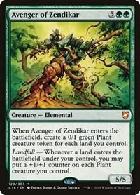 Avenger of Zendikar, Magic, Commander 2018