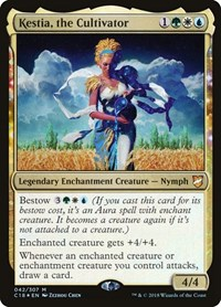Kestia, the Cultivator, Magic, Commander 2018