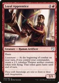Loyal Apprentice, Magic: The Gathering, Commander 2018