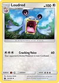 Loudred, Pokemon, SM - Celestial Storm
