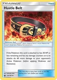 Hustle Belt, Pokemon, SM - Celestial Storm