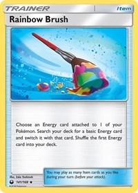 Rainbow Brush, Pokemon, SM - Celestial Storm
