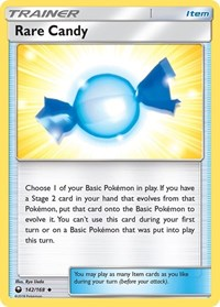 Rare Candy, Pokemon, SM - Celestial Storm