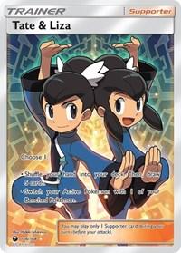 Tate & Liza (Full Art), Pokemon, SM - Celestial Storm