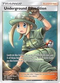 Underground Expedition (Full Art), Pokemon, SM - Celestial Storm