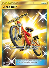 Acro Bike (Secret), Pokemon, SM - Celestial Storm