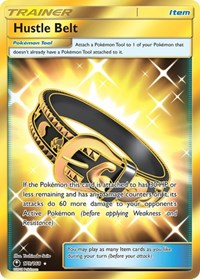Hustle Belt (Secret), Pokemon, SM - Celestial Storm