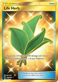 Life Herb (Secret), Pokemon, SM - Celestial Storm