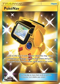 PokeNav (Secret), Pokemon, SM - Celestial Storm