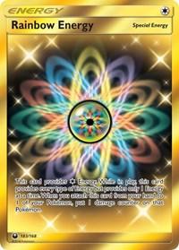Rainbow Energy (Secret), Pokemon, SM - Celestial Storm