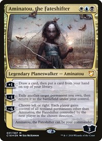 Aminatou, the Fateshifter, Magic: The Gathering, Commander 2018