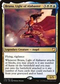 Bruna, Light of Alabaster, Magic, Commander 2018