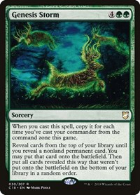 Genesis Storm, Magic, Commander 2018