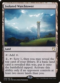 Isolated Watchtower, Magic: The Gathering, Commander 2018