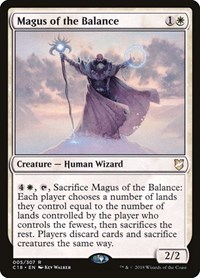Magus of the Balance, Magic, Commander 2018