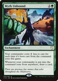 Myth Unbound, Magic: The Gathering, Commander 2018