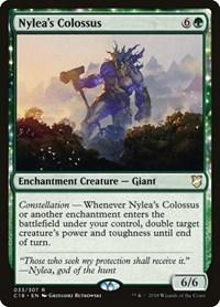 Nylea's Colossus, Magic: The Gathering, Commander 2018
