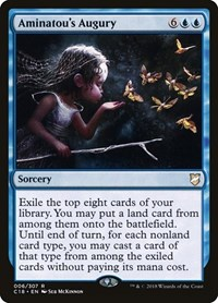 Aminatou's Augury, Magic: The Gathering, Commander 2018