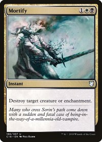 Mortify, Magic: The Gathering, Commander 2018