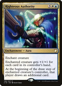 Righteous Authority, Magic: The Gathering, Commander 2018