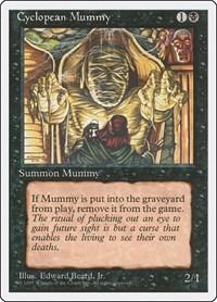 Cyclopean Mummy, Magic: The Gathering, Fourth Edition