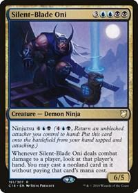 Silent-Blade Oni, Magic: The Gathering, Commander 2018