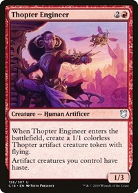 Thopter Engineer, Magic: The Gathering, Commander 2018