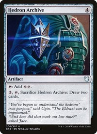 Hedron Archive, Magic: The Gathering, Commander 2018