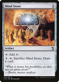 Mind Stone, Magic, Commander 2018